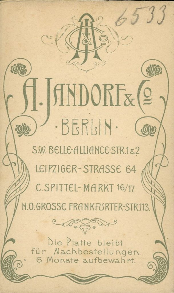 A. Jandorf & Co. - Berlin