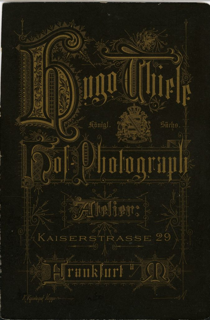 Hugo Thiele - Frankfurt a.M.