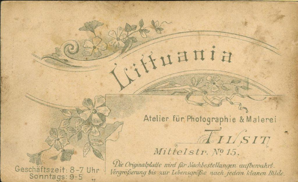 Atelier Littuania - Tilsit