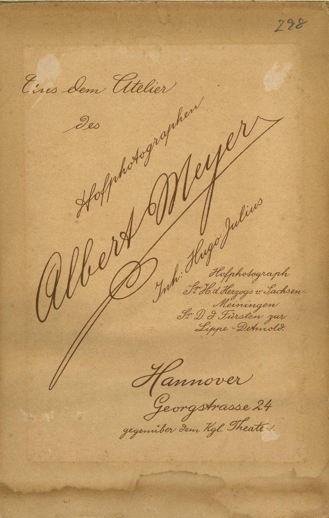 Albert Meyer - Hugo Julius - Hannover