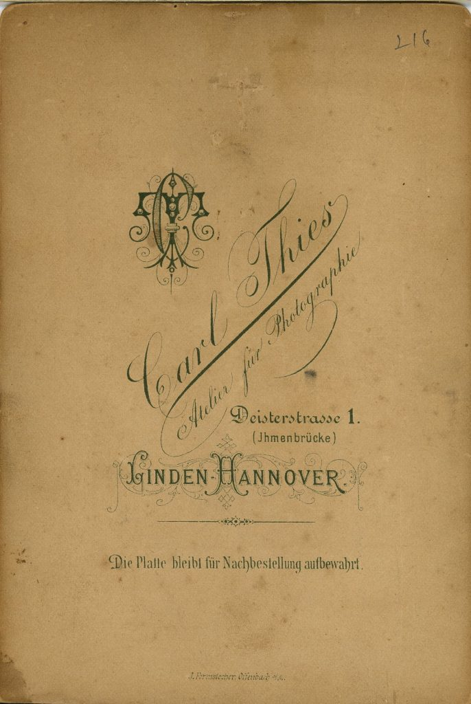 Carl Thies - Linden-Hannover