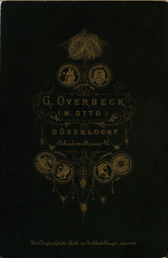 G. Overbeck - W. Otto - Düsseldorf