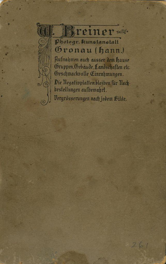 W. Breiner - Gronau (hann)