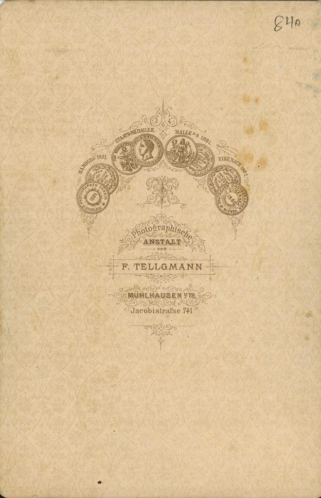 F. Tellgmann - Mühlhausen i.Th.