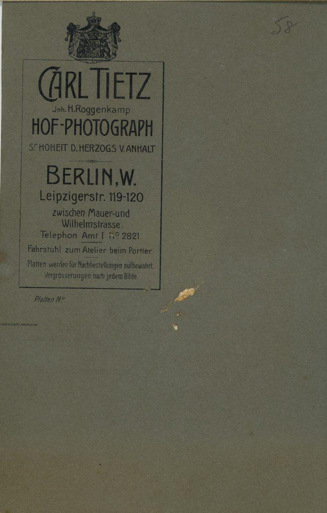 Carl Tietz - Berlin