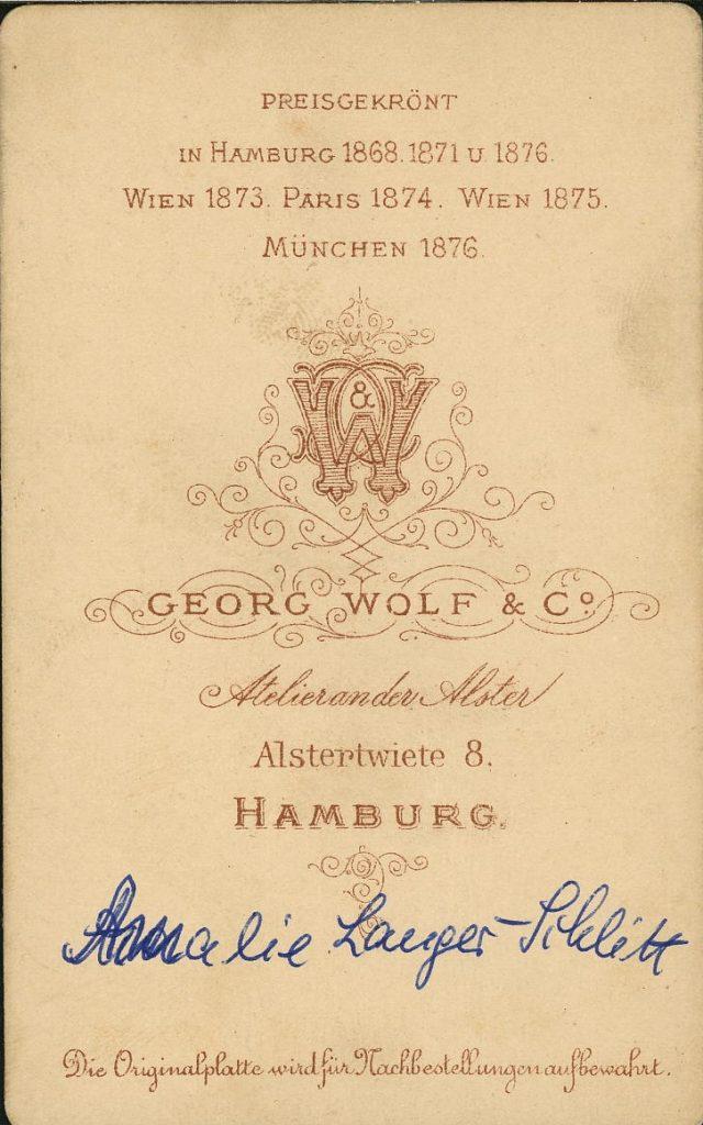 Georg Wolf - Hamburg