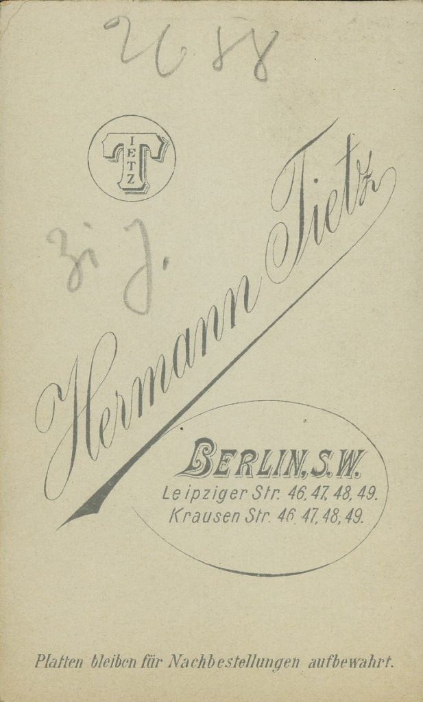 Hermann Tietz - Berlin