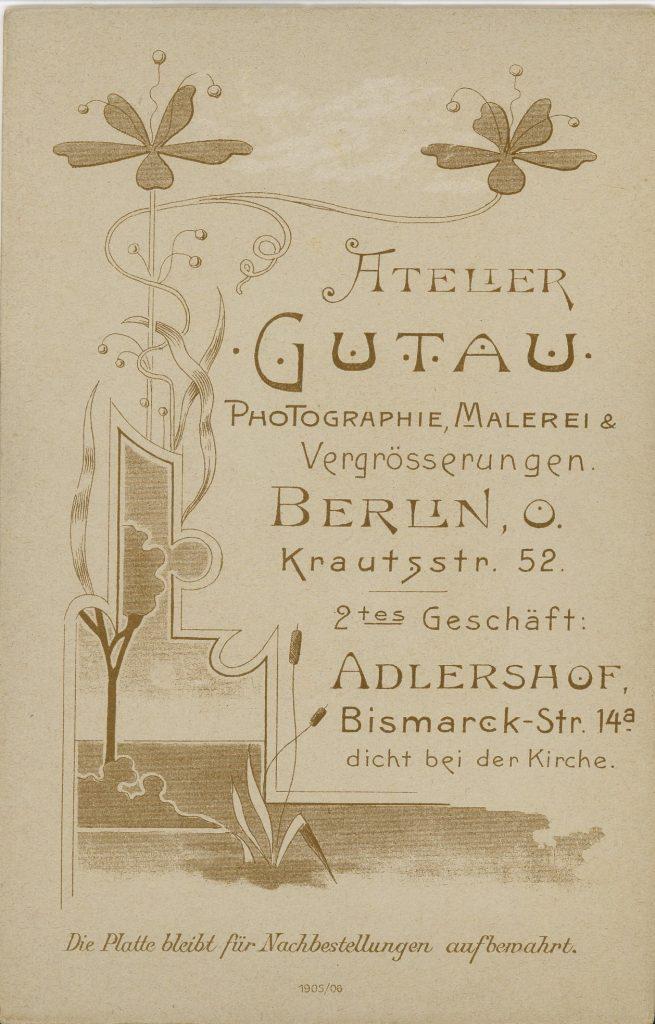 Atelier Gutau - Berlin - Adlershof