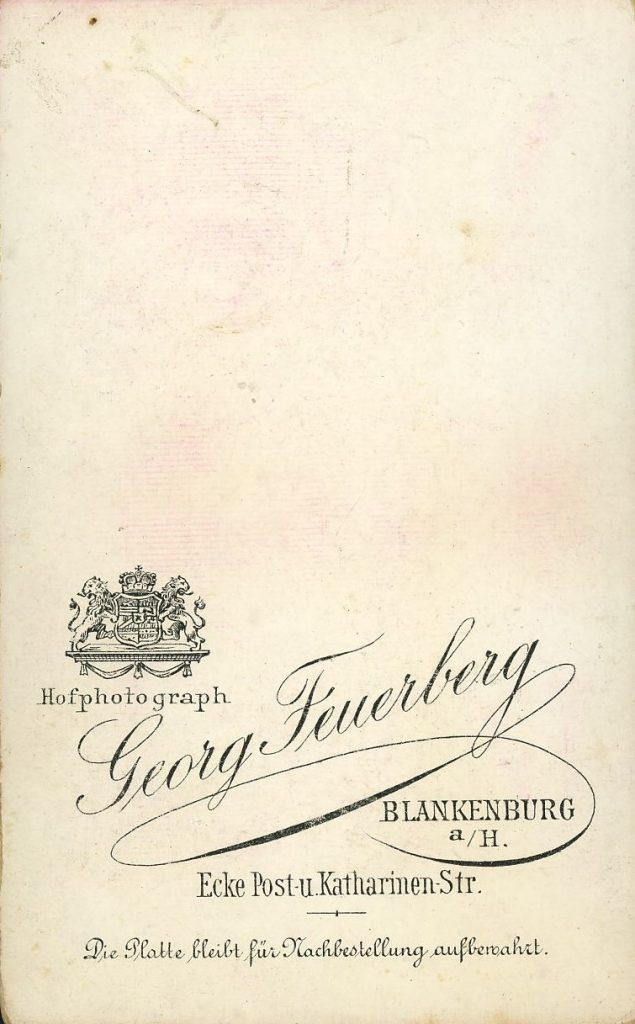 Georg Feuerberg - Blankenburg a.H.