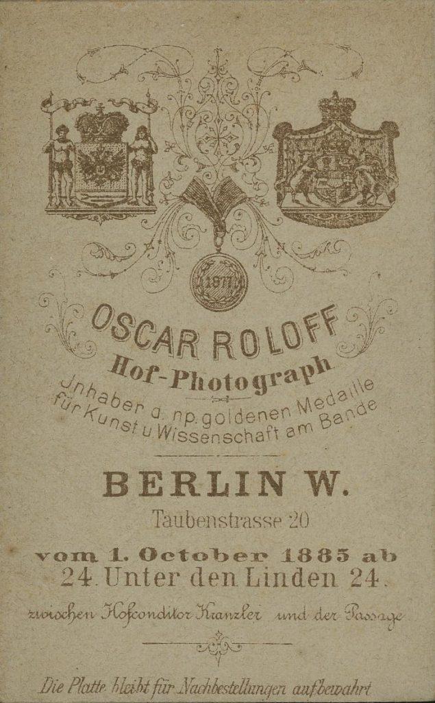 Oscar Roloff - Berlin