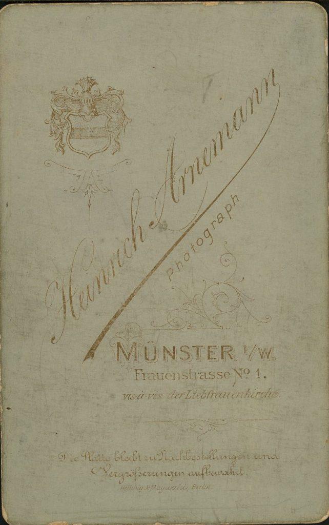 Heinrich Arnemann - Münster i.W.
