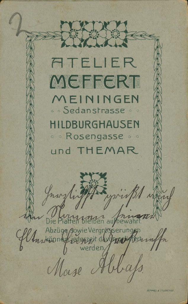 Meffert - Themar - Meiningen - Hildburghausen
