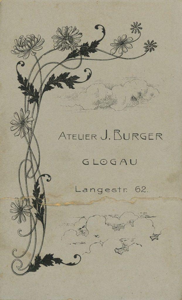 J. Burger - Glogau