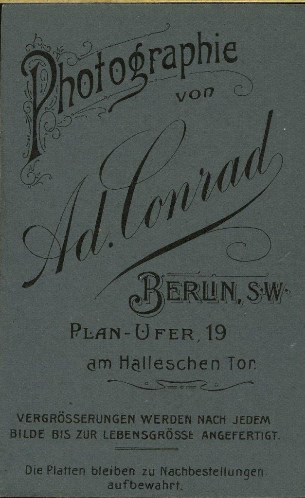 Ad. Conrad - Berlin