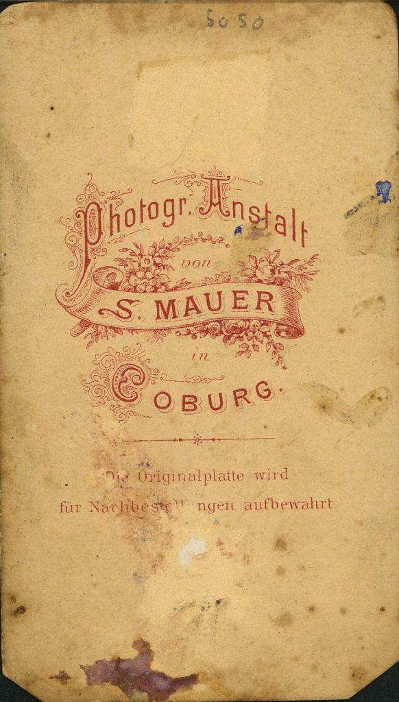 S. Mauer - Coburg
