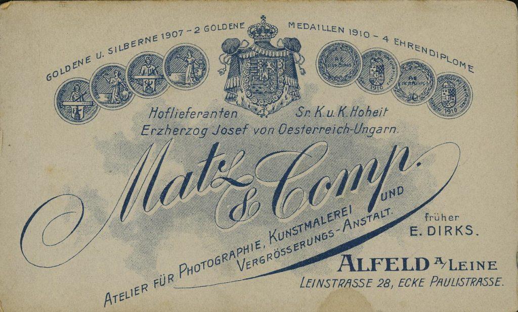 Matz & Co - E. Dirks - Alfeld a.L.