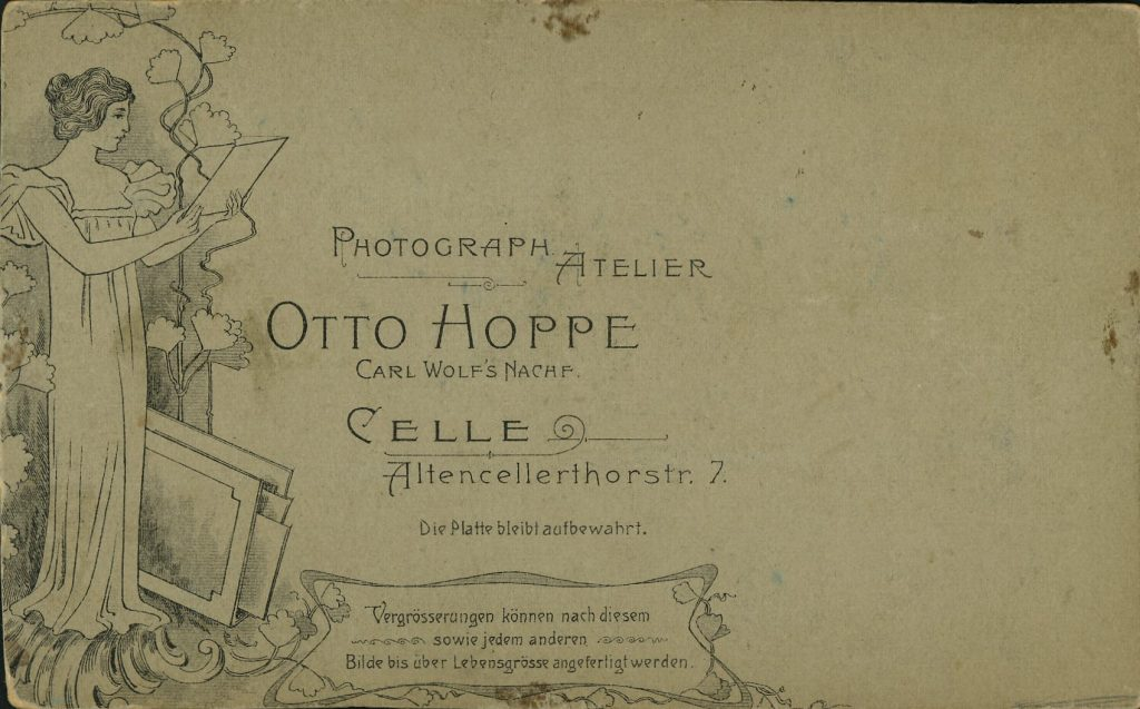 Otto Hoppe - Celle - Carl Wolf