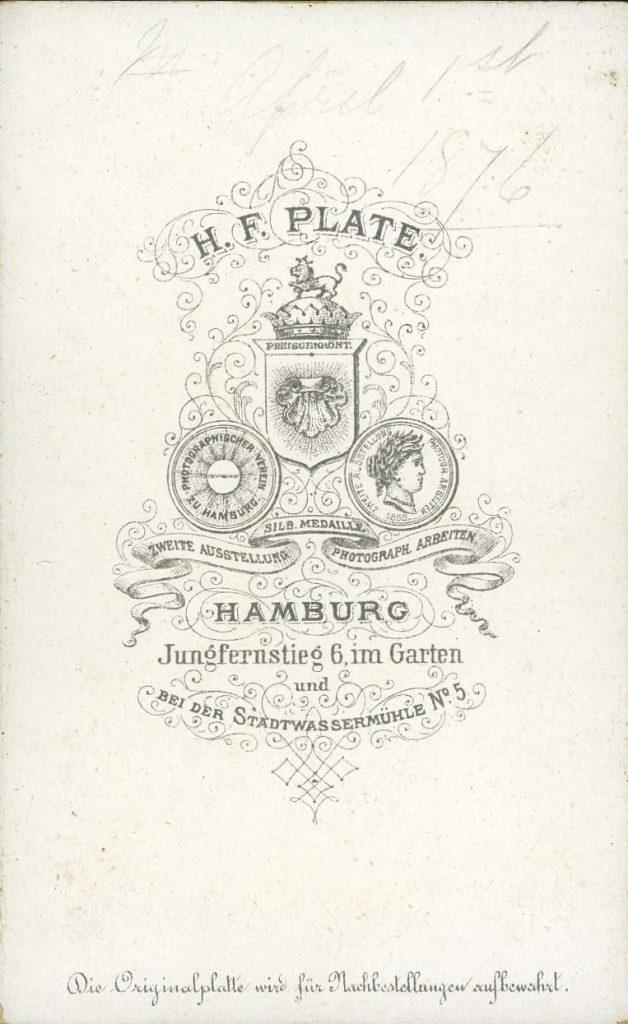 H. F. Plate - Hamburg