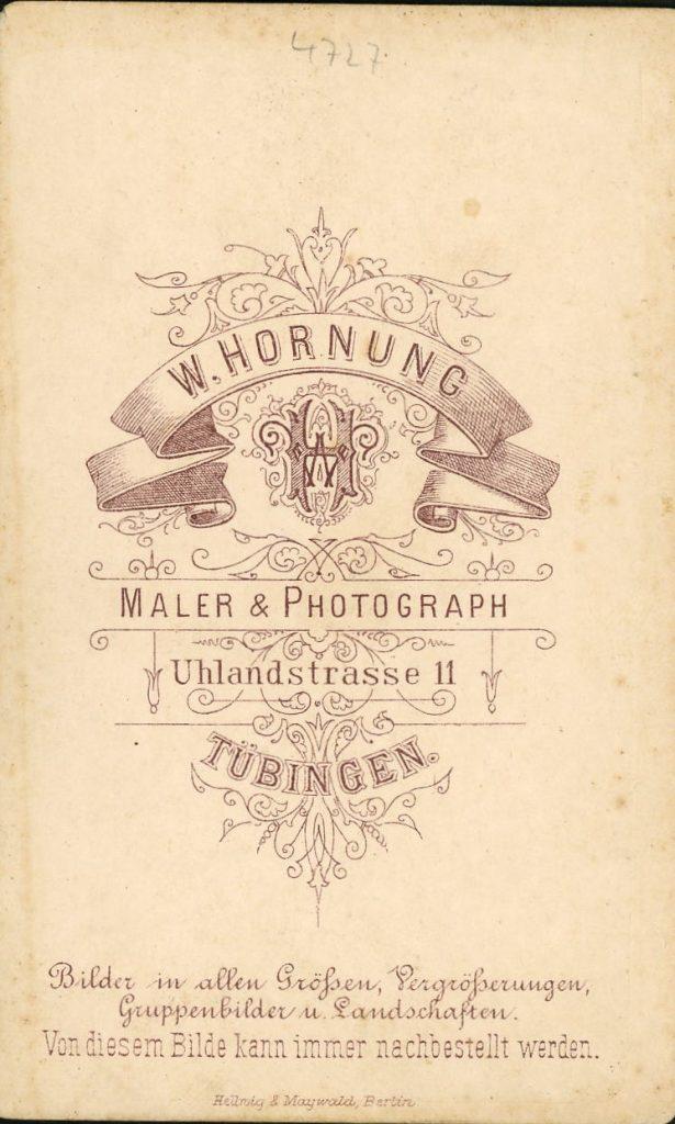 W. Hornung - Tübingen