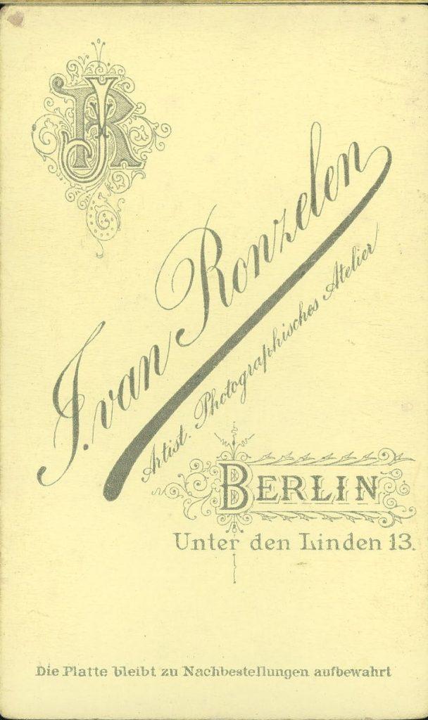 Ivan Renzelen - Berlin