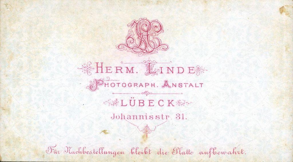 Herm. Linde - Lübeck