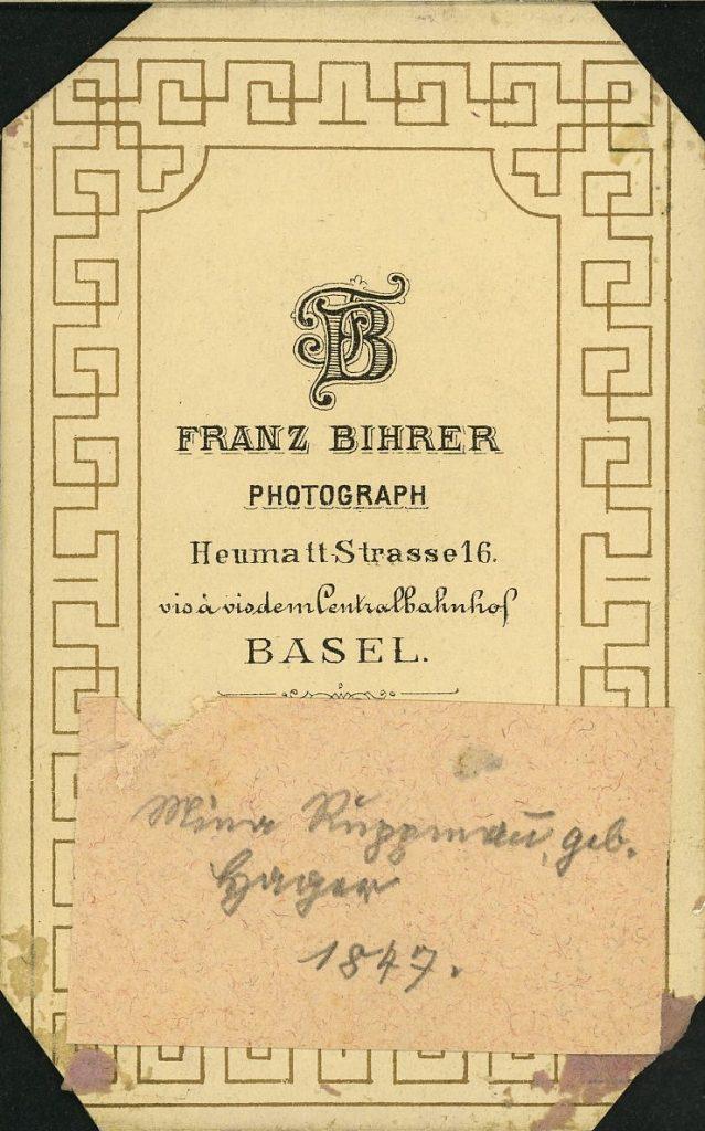Franz Bihrer - Basel