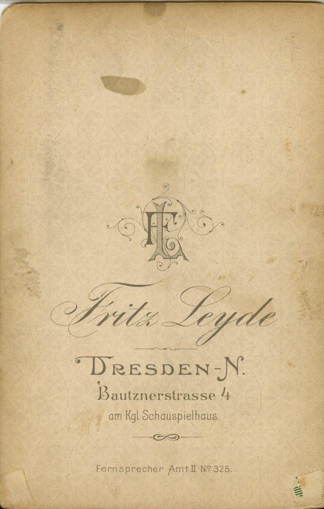 Fritz Leyde - Dresden