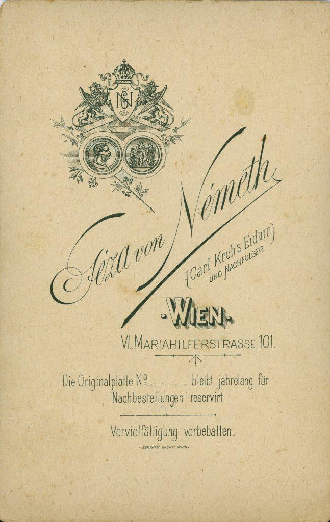 Géza von Németh - Wien - Carl Kroh