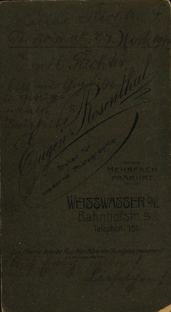 Eugen Rosenthal - Weisswasser o.L.