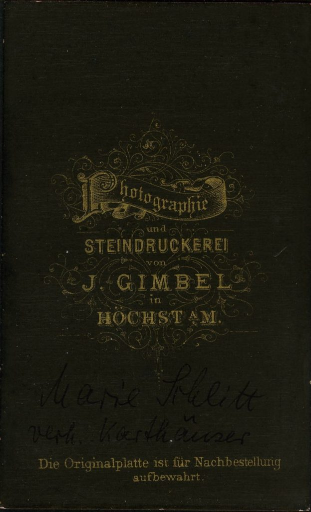 J. Gimbel - Höchst a.M.