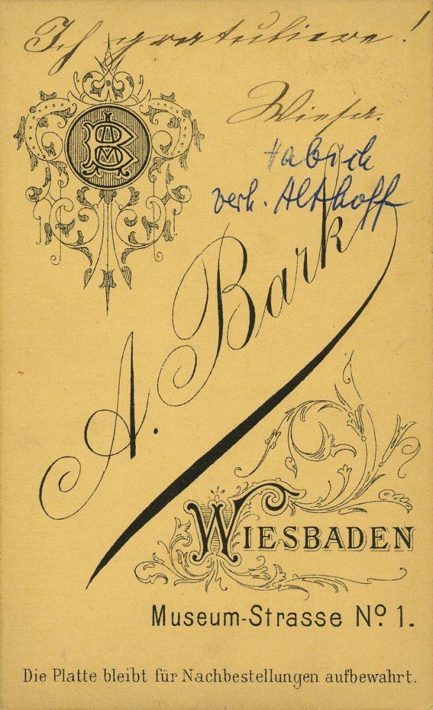 A. Bark - Wiesbaden