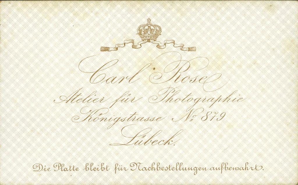 Carl Rose - Lübeck