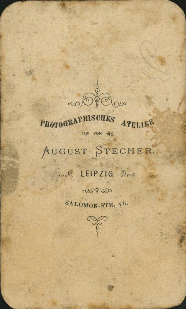August Stecher - Leipzig