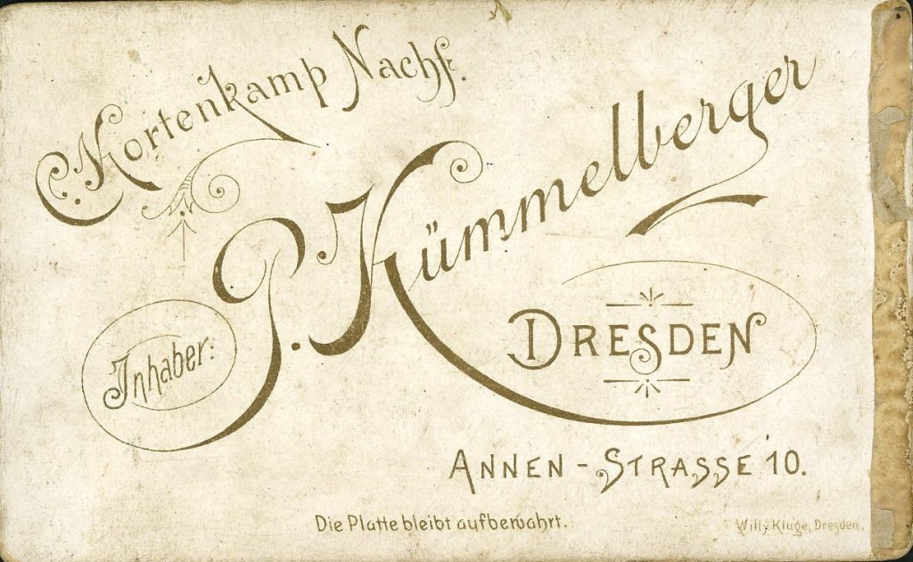 P. Kümmelberger - Dresden - C. Kortenkamp