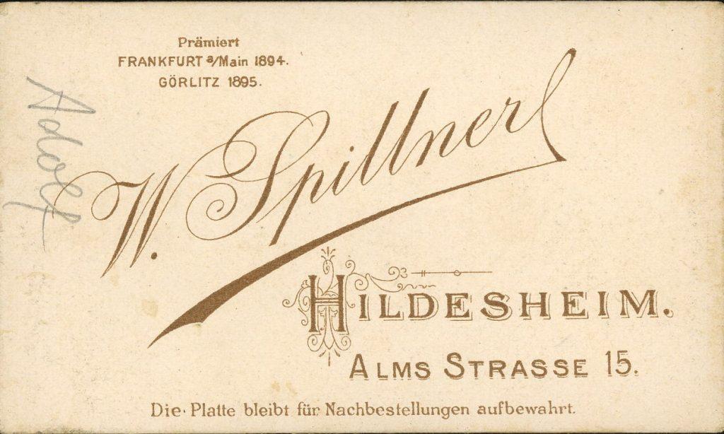 W. Spillner - Hildesheim