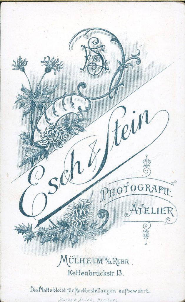 Esch - Stein - Mülheim a.d.Rhur