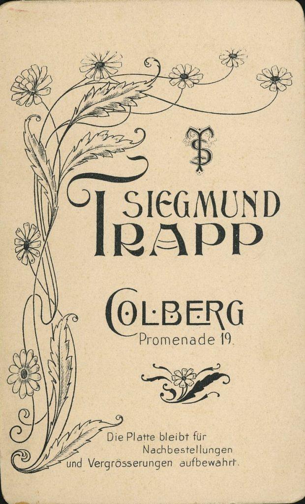 Siegmund Trapp - Colberg