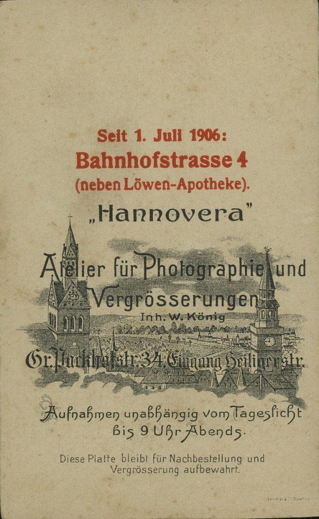 Hannovera - Hannover - W. König