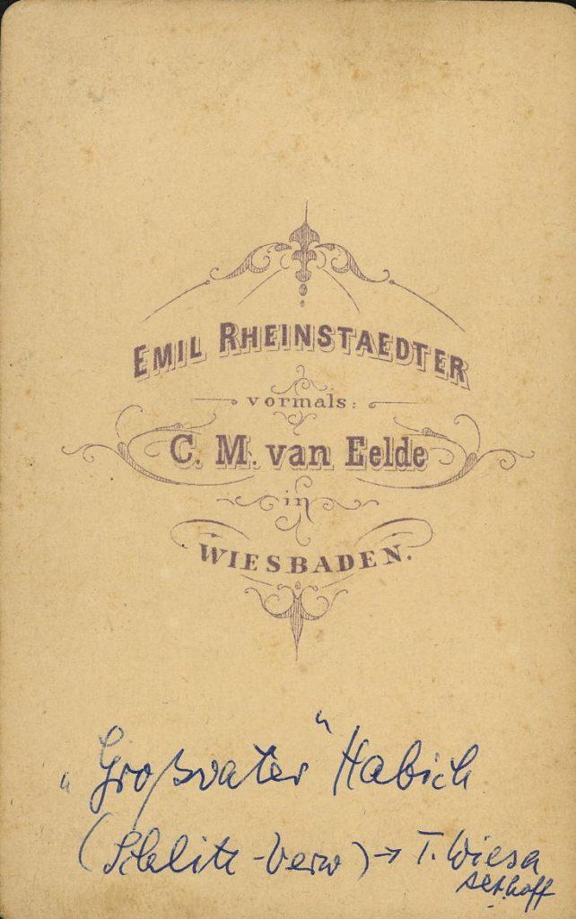C. M. van Ende - Wiesbaden - Emil Rheinstaedter