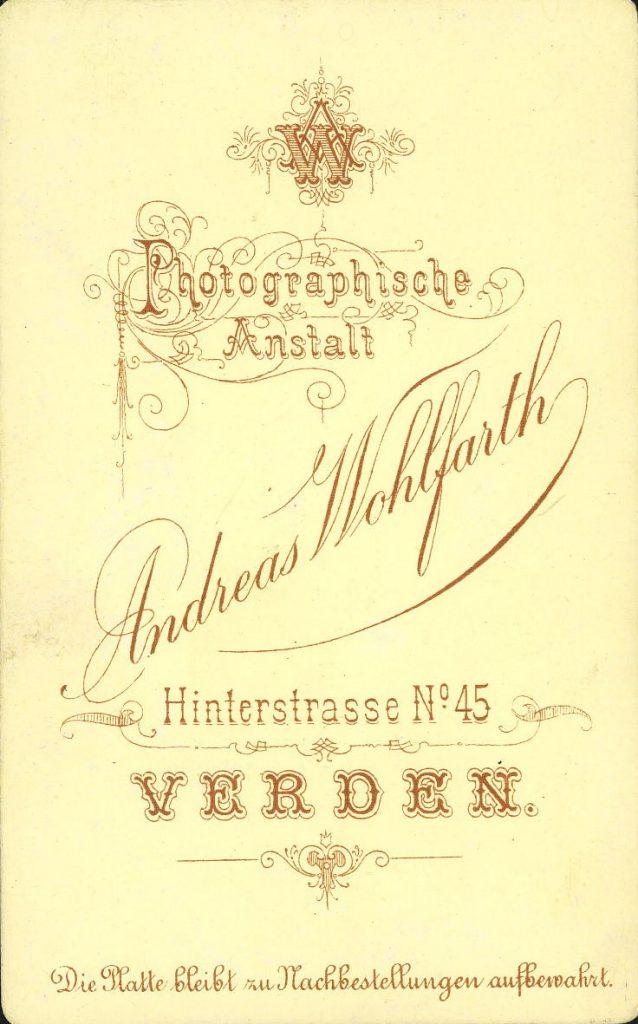 Andreas Wohlfarth - Verden