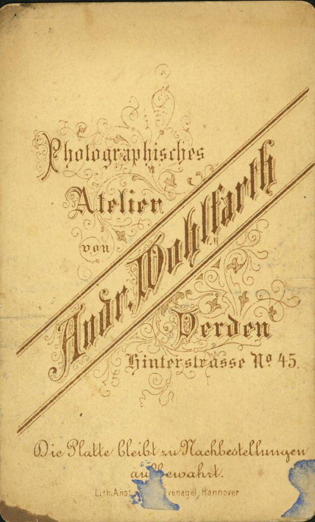 Andr. Wohlfarth - Verden