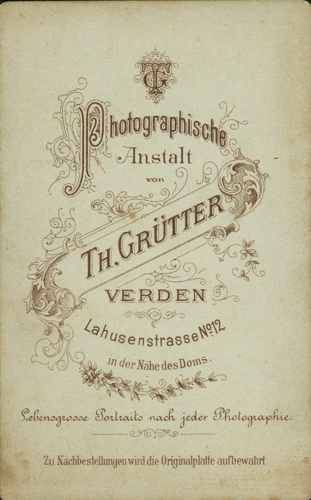 Th. Grütter - Verden