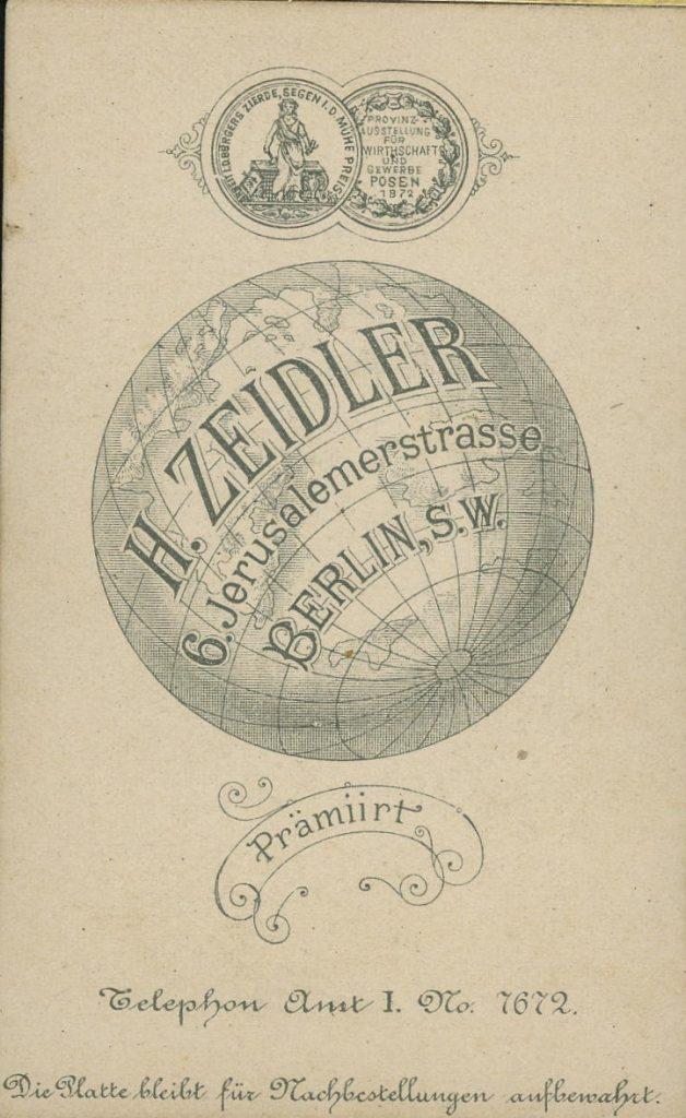 H. Zeidler - Berlin