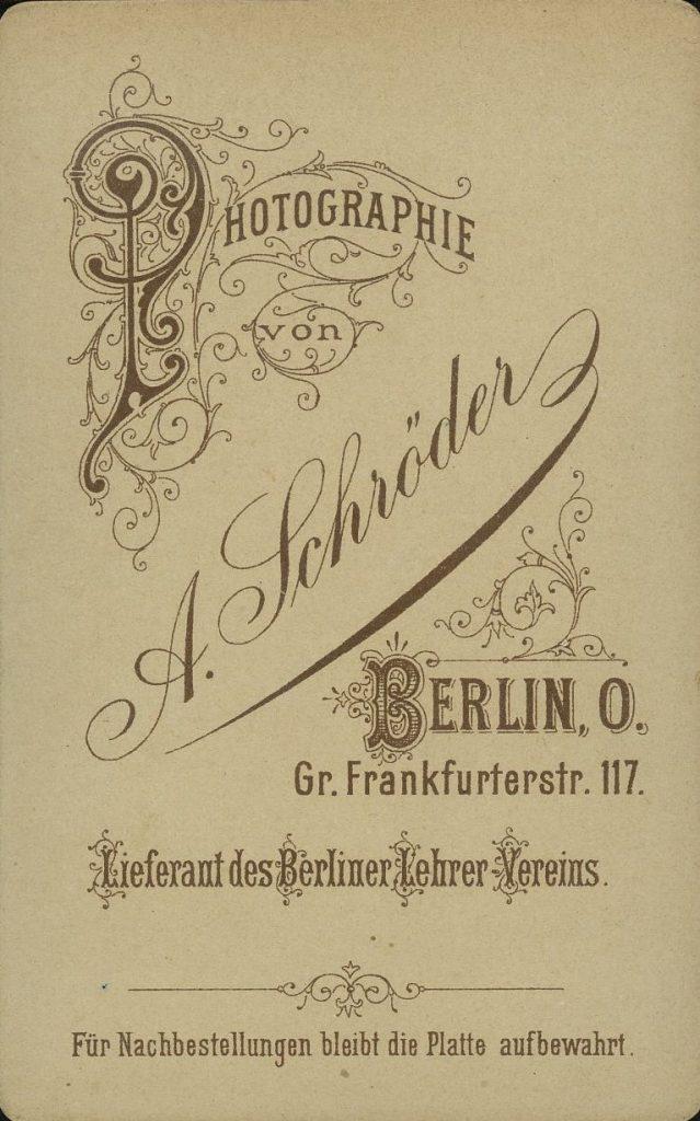 A. Schröder - Berlin