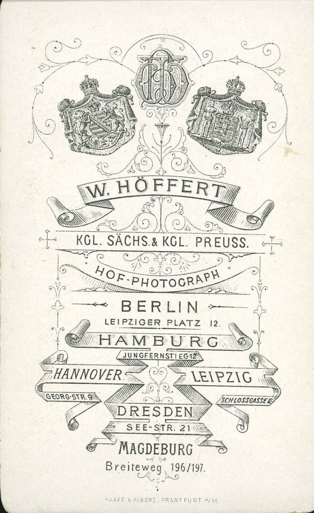 W. Höffert - Berlin - Hamburg - Hannover - Leipzig - Dresden - Magdeburg