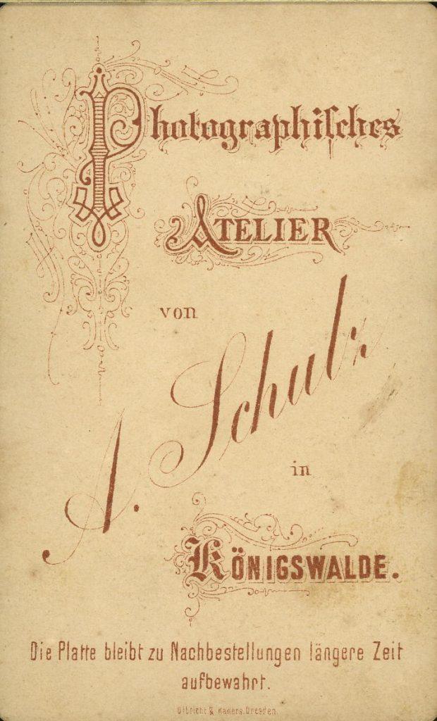 A. Schülz - Königswalde