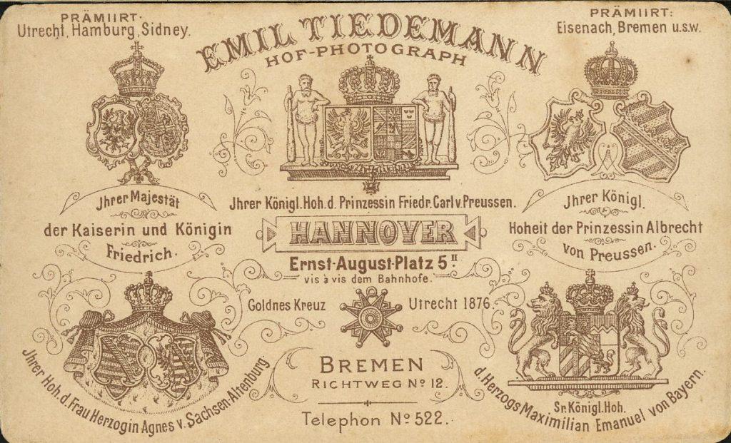 Emil Tiedemann - Bremen - Hannover