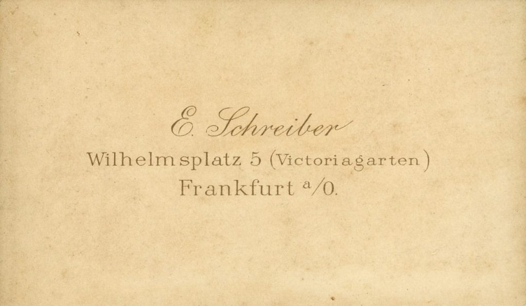 E. Schreiber - Frankfurt a.O.