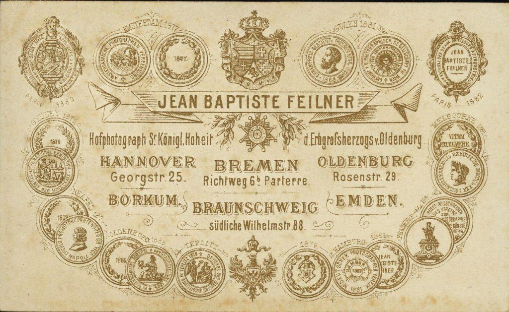 Jean Baptiste Feilner - A. Mohaupt - Bremen - Hannover - Borkum - Braunschweig - Emden - Oldenburg