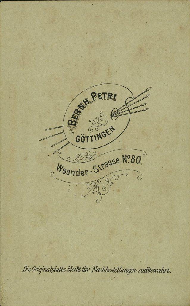 Bernh. Petri - Göttingen